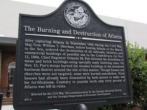The Burning and Destruction of Atlanta