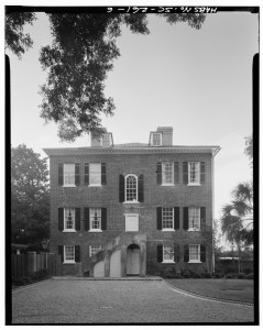 Glebe House, 6 Glebe Street, Charleston, SC. Library of Congress, Prints & Photographs Division, HABS SC,10-CHAR,169—6