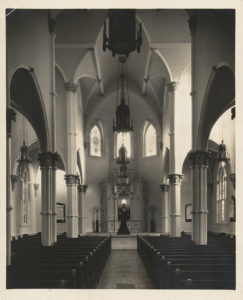 Mickve Israel Synagogue. From the Foltz Photography Studio Photographs, MS 1360.