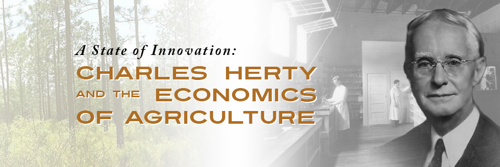 Charles Herty and the Economics of Agriculture