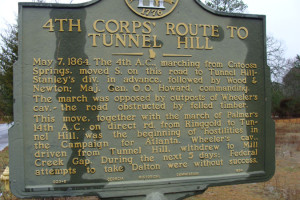4th Corps' Route to Tunnel Hill