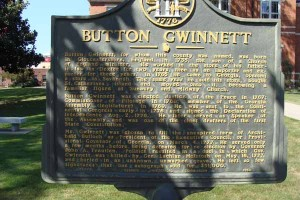 Button Gwinnett
