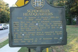 Schofield's Headquarters