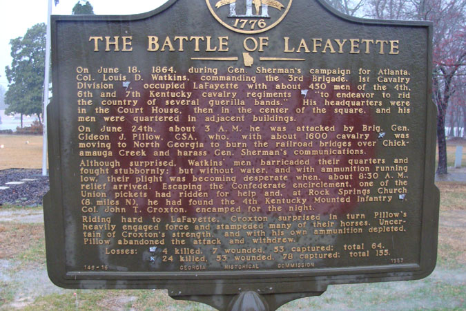 The Battle of Lafayette
