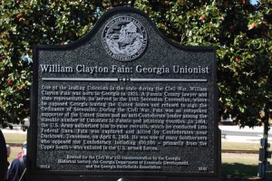 William Clayton Fain: Georgia Unionist