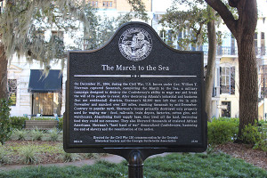 March to the Sea - Savannah