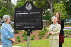 The Sisters of Mercy and St. Mary's Home historical marker