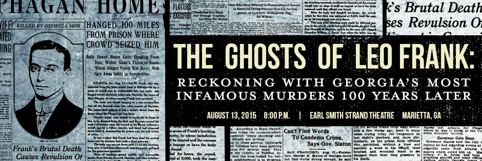 The Ghosts of Leo Frank