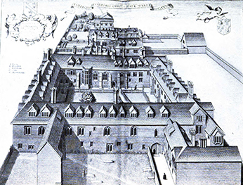 Corpus Christi College, Oxford University, 1688, in, Corpus Christi College (University of Cambridge) by Stokes, H. P.