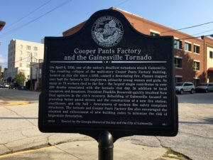 Cooper Pants Factory and the Gainesville Tornado