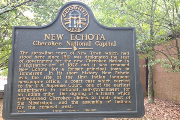 New Echota Cherokee National Capital