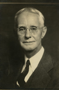 Charles Holmes Herty, 1939. From the Foltz Photography Studio Photographs, MS 1360.
