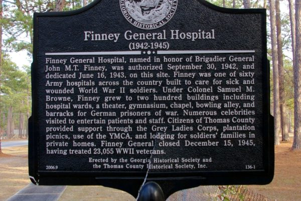 Finney General Hospital Marker