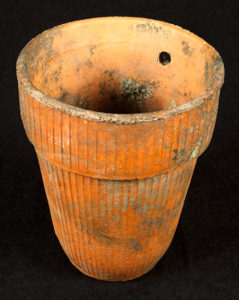 Ceramic Herty Cup. From the GHS Objects Collection, A-1361-374.