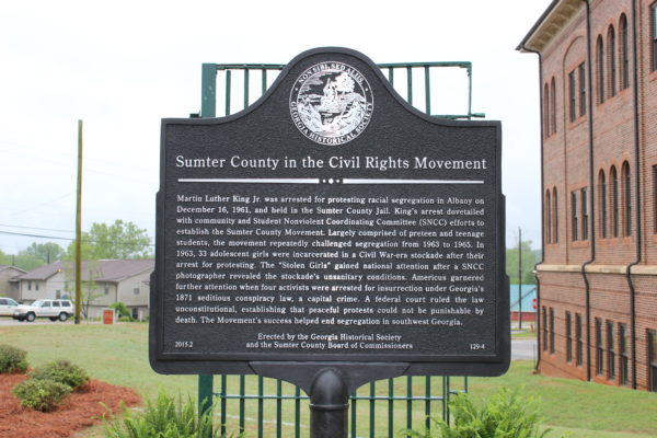 Sumter County in the Civil Rights Movement