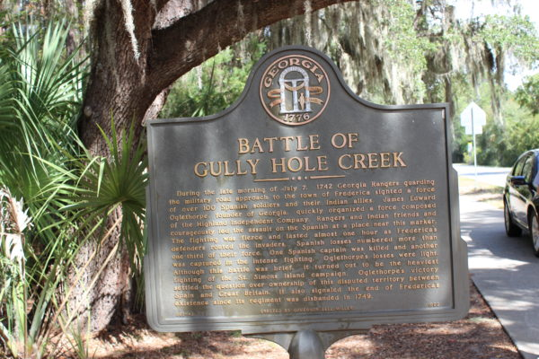 Battle of Gully Hole Creek