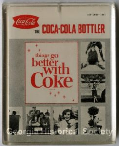 Coca-Cola Bottler Paperweight. GHS Object Collection, A-1690-008