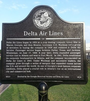 Delta Air Lines Historical Marker