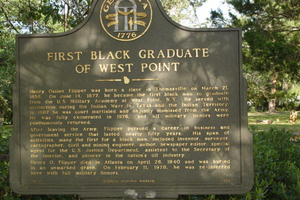 First Black Graduate of West Point