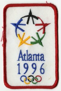 1996 Summer Olympics patch
