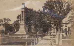Gordon Monument, Savannah, Ga. Ca. 1883-1892. William E. Wilson Photographs, 1883-1892, MS 1375.