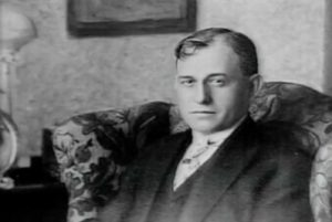 Hugh M. Dorsey seated. Image Credit: The Leo Frank Case Research Library