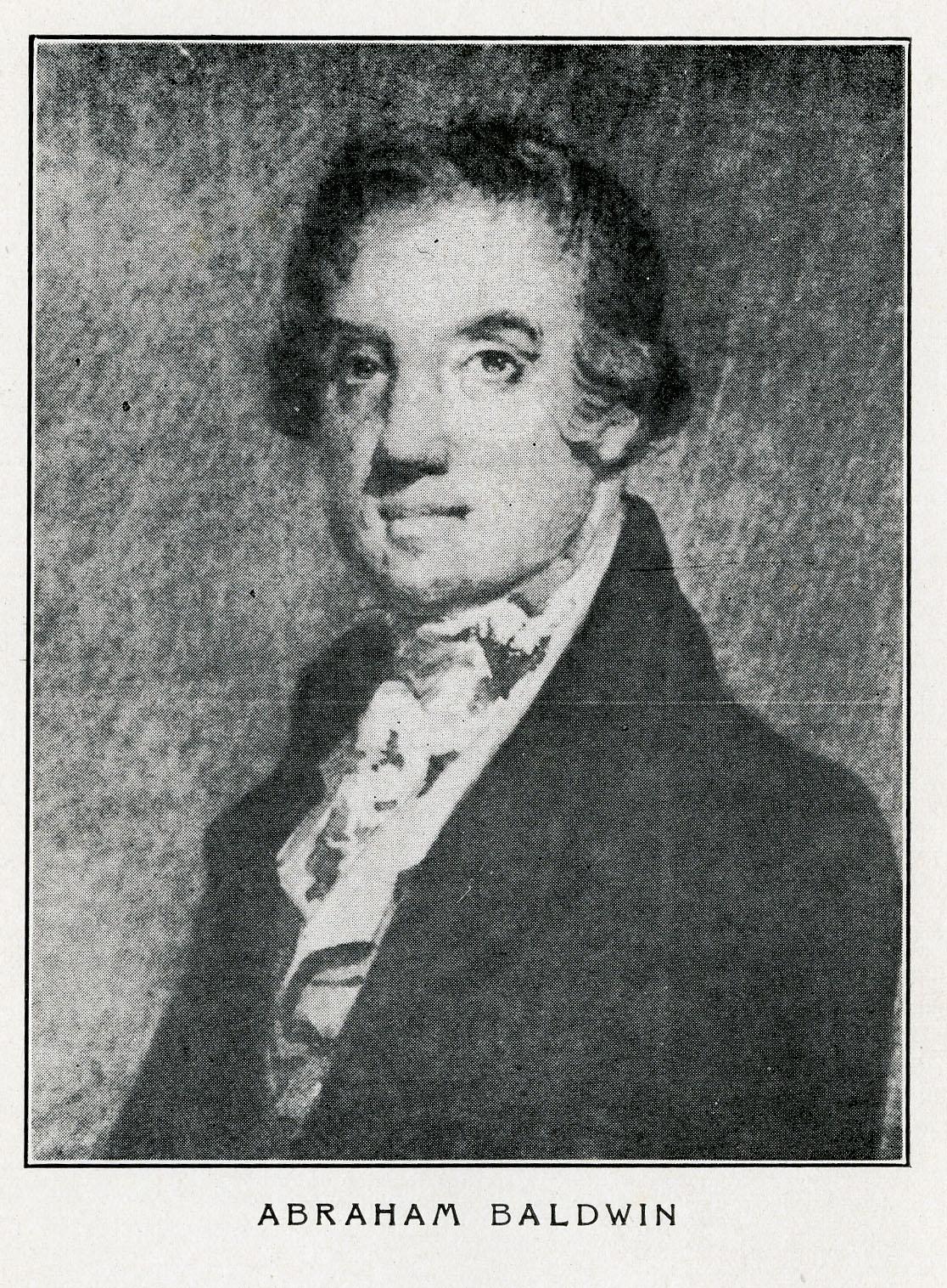 Abraham Baldwin Sketch. Georgia Historical Society Main Collection E302.6.B17 W5