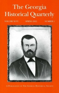 The Georgia Historical Quarterly - Spring 2012