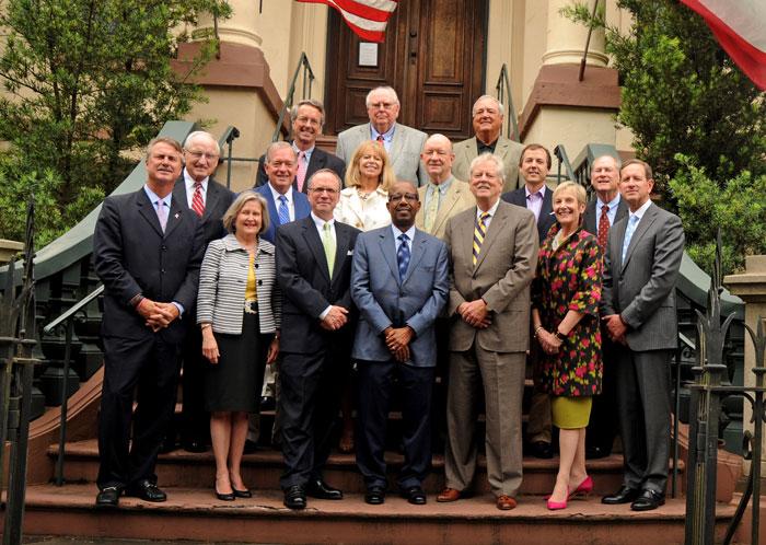 Members of the GHS Board of Curators