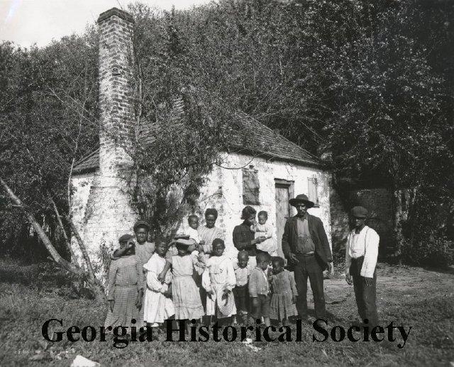 Hermitage Plantation - Slave Quarters