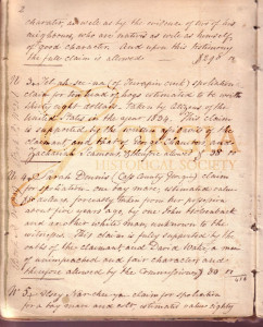 Cherokee Indians relocation papers, 1815-1838