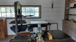 New Echota Print Shop