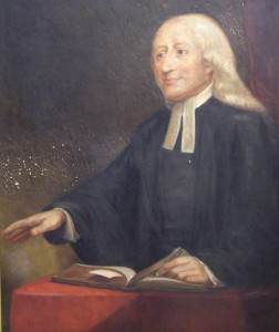 Portrait of John Wesley, by Emma Cheves Wilkins, 1933. From the Georgia Historical Society Objects Collection, A-1361-333.