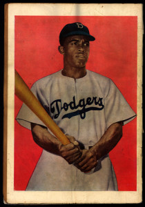 Back cover of Jackie Robinson comic book, circa 1951. Library of Congress Prints & Photographs Division, LC-USZC4-6147.