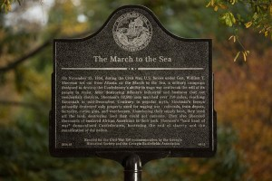 The March to the Sea - Atlanta Marker