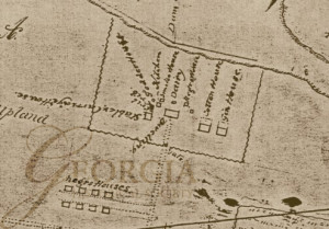 Arcadia Plantation Map / resurveyed by Wm. Hughes, C.S.L.C