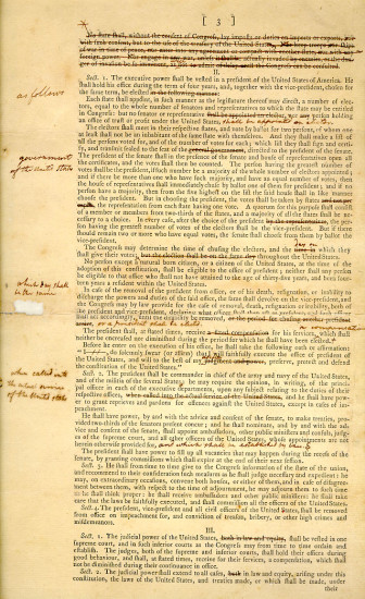 The Great Compromise Of 1787 Document