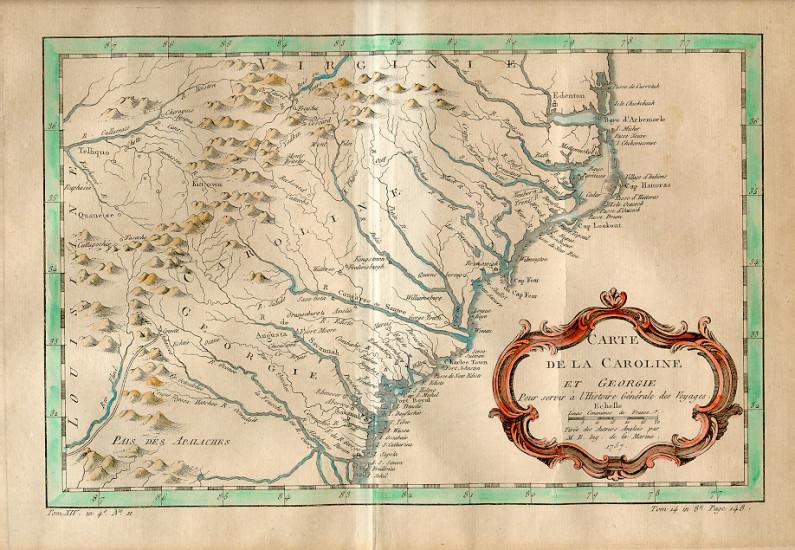 Map Of Georgia Colony.Trustee Georgia Georgia Historical Society