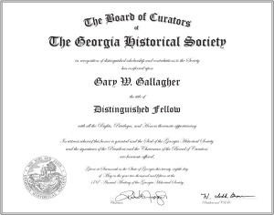 GHS Distinguished Fellow