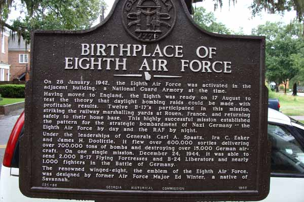 Birthplace of Eighth Air Force