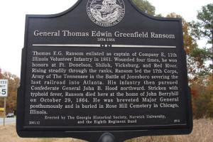 General Thomas Edwin Greenfield Ransom