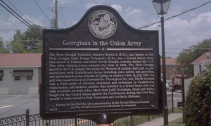 Georgians in the Union Army