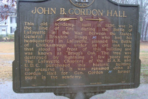 John B. Gordon Hall