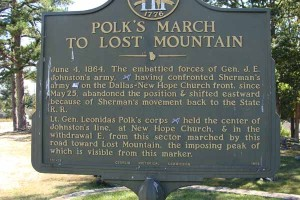 Polk's March to Lost Mountain