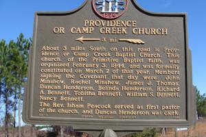 providence-or-camp-creek-church
