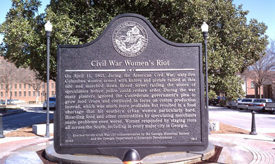Civil War Women's Riot