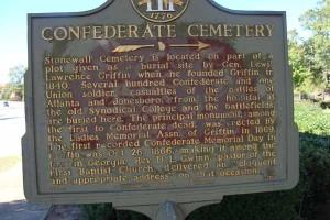 Confederate Cemetery (Spalding County)
