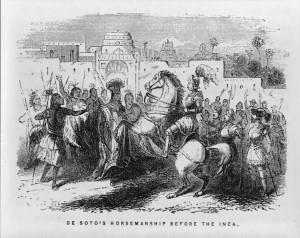 De Soto before Inca