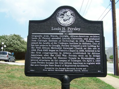 Louis H. Persley Marker