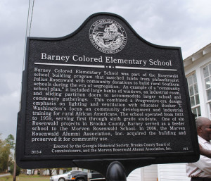 Barney Colored Elementary School